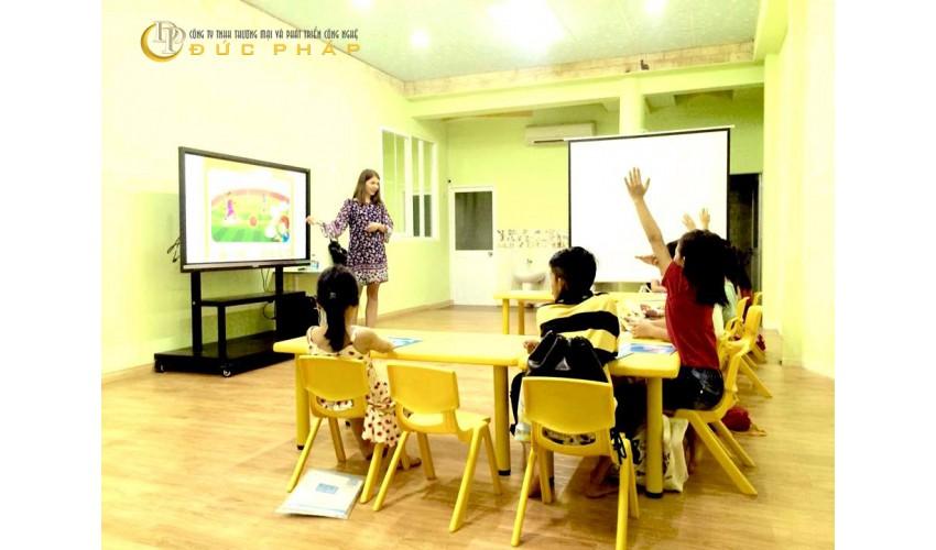 Trường quốc tế tại Hà Nội sử dụng màn hình tương tác thông minhViewSonic