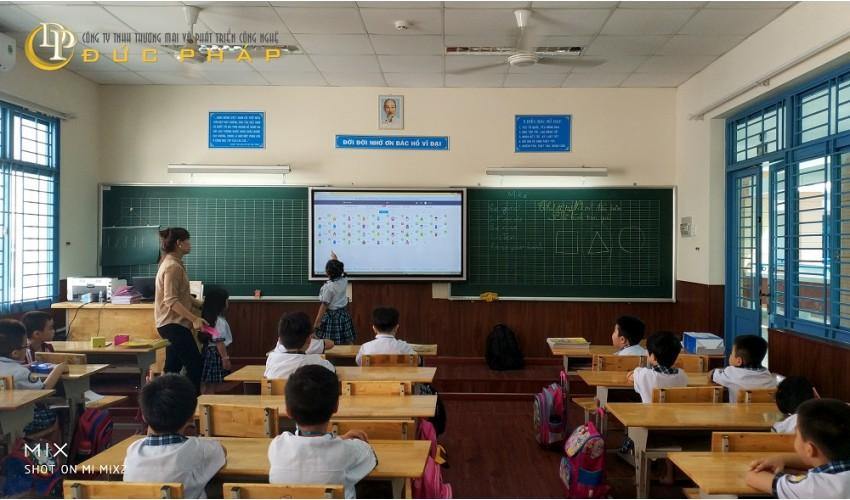 Hệ Thồng các trường công lập sử dụng màn hình tương tác thông minh ViewSonic