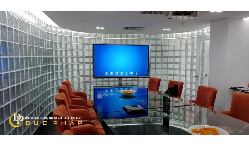 Màn hình tương tác thông minh ViewSonic sử dụng cho phòng họp của công ty truyền thông