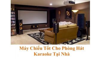 Máy Chiếu Karaoke Chất Lượng Nâng Tầm Giải Trí Tại Gia Cho Phòng Hát Karaoke Gia Đình Hiện Đại