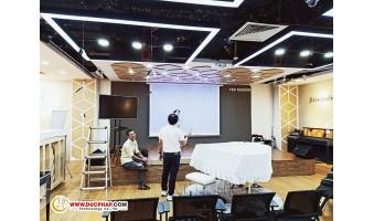 Công Trình Cung Cấp Và Lắp Đặt Máy Chiếu Cho Khách Hàng Từ 13-14/8/2019
