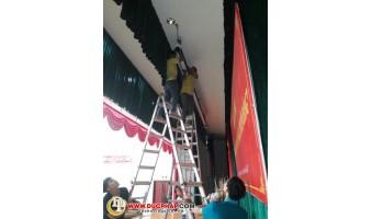 Công Trình Thi Công Lắp Đặt Máy Chiếu Cho 1 Bệnh Viện Quân Y Tại Quận Hà Đông - Hà Nội