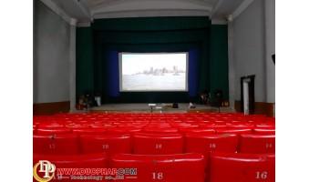 Công trình lắp đặt máy chiếu cho rạp chiếu phim tại Nam Định