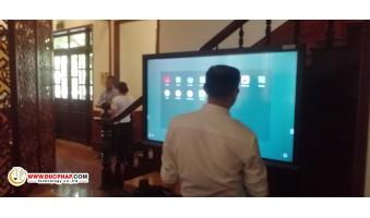 Cung Cấp Và Lắp Đặt Màn Hình Tương Tác Thông Minh ViewSonic Cho 1 Công Ty Gas Tại Quận Hoàn Kiếm - Hà Nội