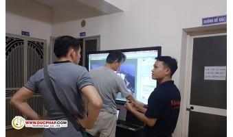 Cung Cấp Và Lắp Đặt Màn Hình Tương Tác Thông Minh ViewSonic Cho 1 Công Ty Nhôm Tại Quận Hoàn Kiếm - Hà Nội
