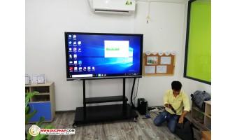 Cung Cấp Và Lắp Đặt Màn Hình Tương Tác Thông Minh ViewSonic Cho 1 Trường Quốc Tế Tại Huyện Đông Anh - Hà Nội