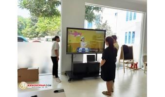 Cung Cấp Và Lắp Đặt Màn Hình Tương Tác Thông Minh ViewSonic Cho 1 Trường Quốc Tế Tại Quận Hà Đông - Hà Nội