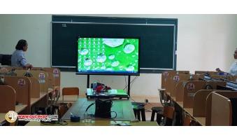 Cung Cấp Và Lắp Đặt Màn Hình Tương Tác Thông Minh ViewSonic Cho 1 Trường Tiểu Học Tại Cà Mau