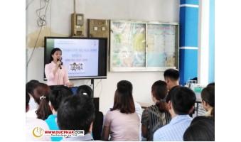 Cung Cấp Và Lắp Đặt Màn Hình Tương Tác Thông Minh ViewSonic Cho 1 Trường Tiểu Học Tại Đồng Nai Ngày 10/8/2019
