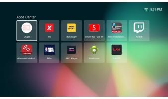 Hướng Dẫn Thêm Và Xóa Ứng Dụng Ở Home Screen Trong Máy Chiếu ViewSonic M1 Mini Plus